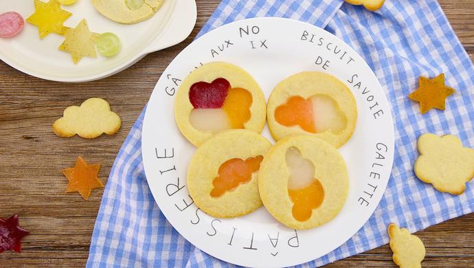 彩糖云朵饼干 | 太阳猫爱烘焙