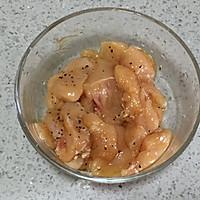 香煎黑椒鸡胸肉(少油低脂)的做法图解3