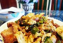 腊肉炒花菜【家常做法】『香辣版』的做法