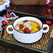 姜糖红薯小圆子#简单快手,我家冬日必菜品#