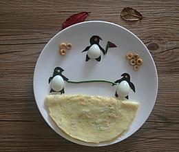 宝宝创意早餐之企鹅运动会的做法