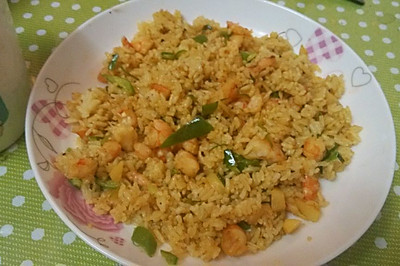咖喱海鮮炒飯