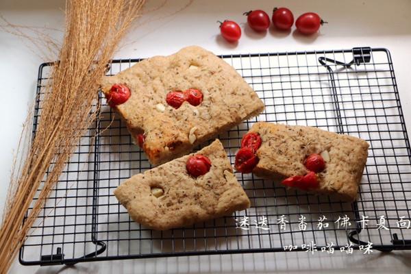 面包不吃甜的就吃咸的-迷迭香番茄佛卡夏面包的做法