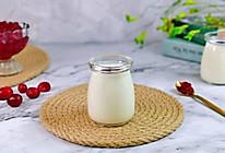 #轻饮蔓生活#自制蔓越莓果酱酸奶的做法