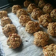 【低卡低脂】燕麦饱腹软饼干