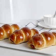 滿足你吃貨味蕾的小熱狗面包卷