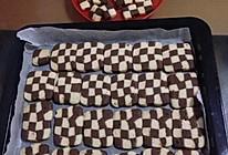 双色小棋格饼干的做法