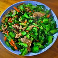 四角豆炒瘦肉