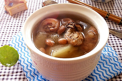 猪尾木瓜花生汤