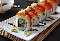 三文鱼寿司#丘比轻食厨艺大赛#的做法