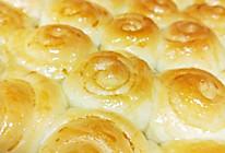 #换着花样吃早餐#脆底蜂蜜小面包的做法