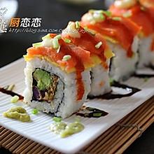 三文鱼寿司#丘比轻食厨艺大赛#