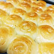 #换着花样吃早餐#脆底蜂蜜小面包