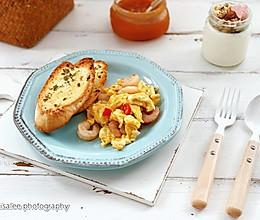 快手早餐-蒜香法棍的做法