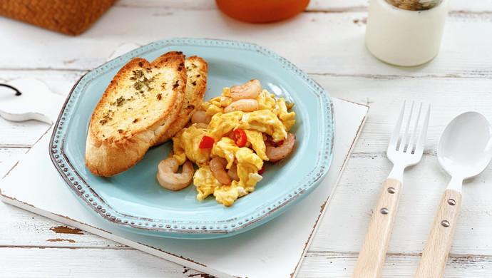 快手早餐-蒜香法棍