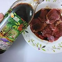 #菁选酱油试用之照烧猪肉的做法图解4