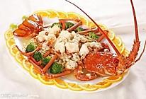 蒜蓉淸蒸大龙虾的做法
