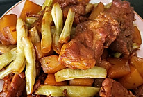 简单易做又好吃的豆角土豆炖排骨的做法