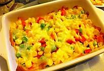 马苏里拉奶酪焗时蔬的做法