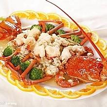 蒜蓉淸蒸大龙虾