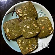 抹茶坚果饼干~~