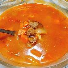 营养丰富罗宋汤