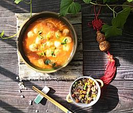 #憋在家里吃什么#健脑益智前强身健体番茄龙利鱼丸子汤的做法