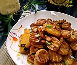 素食之——杏鲍菇炒土豆的做法