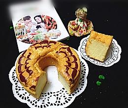 空气炸锅版拉花蛋糕#盛年锦食·忆年味#的做法
