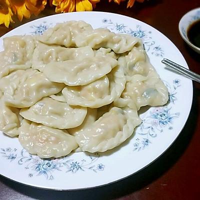 玉米胡蘿卜香菇豬肉餡餃子