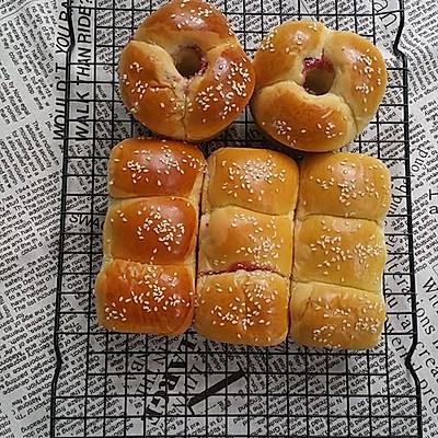 东菱新品DL-K30A烤箱体验之草莓果酱面包(中种)