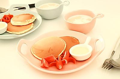 松饼&椰汁西米露营养早餐,如何快速做出多种早餐的秘诀