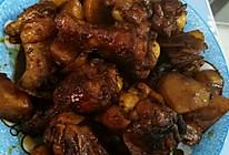 红烧鸡翅根土豆的做法