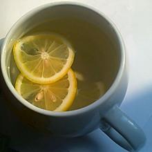 美白的冰糖柠檬水