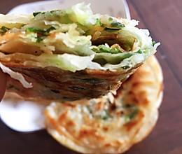 #餐桌上的春日限定#千层葱油饼(饺子皮版)的做法