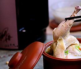 【Me制豆浆实验室】豆浆煲鸡的做法