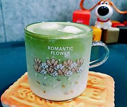 夏日特调桂味抹茶拿铁的做法