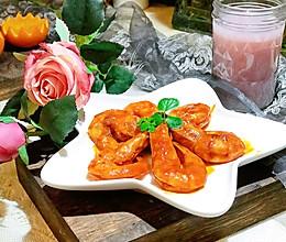#精品菜谱挑战赛#茄汁大虾的做法