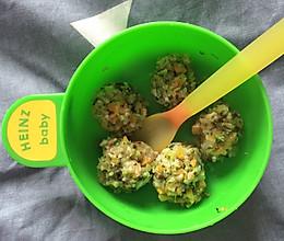 婴儿辅食-时蔬虾丸的做法