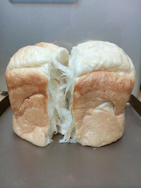 柔软拉丝的吐司-东菱面包机的做法