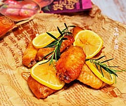 大喜大柠檬烤鸡翅的做法