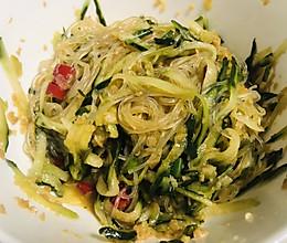 #营养小食光#黄瓜拌粉丝,清凉解暑还管饱的做法