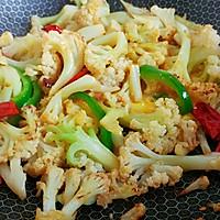 椒蛋蚝香油菜花的做法图解6