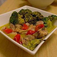 泰式绿咖喱鸡肉