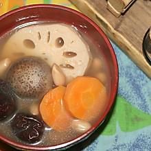 滋补素汤(带着浓浓鸡汤味道的纯素汤)
