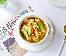 虾皮丝瓜汤的做法