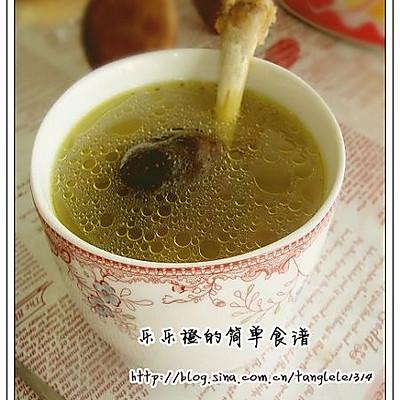 鸡腿骨华丽的旅行——香菇鸡骨汤(豆果美食)