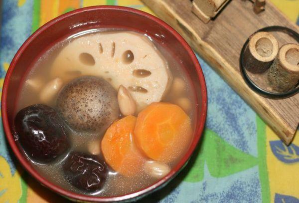 滋补素汤(带着浓浓鸡汤味道的纯素汤)的做法