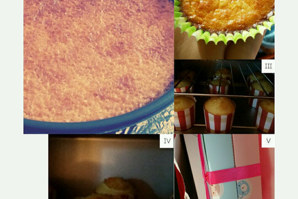 纸杯蛋糕、各类蛋糕系列的做法