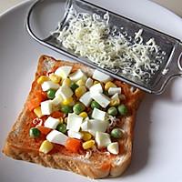 一日健康从早餐开始--吐司披萨的做法图解2